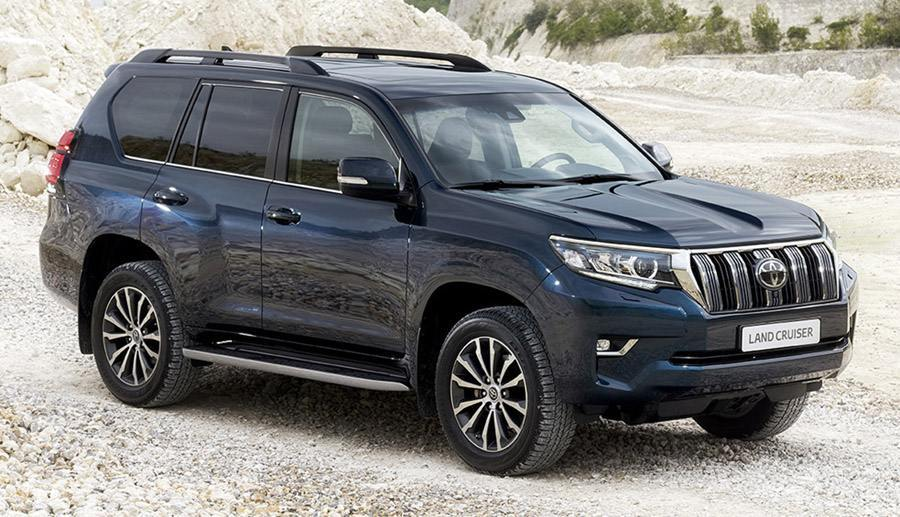 Toyota Land Cruiser 150 Prado 2018 года