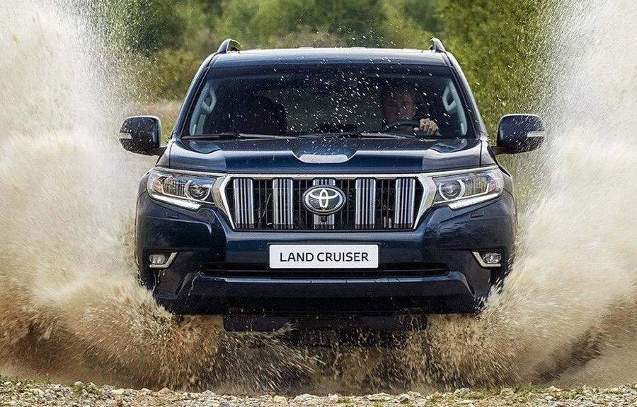 Передок Toyota Land Cruiser 150 Prado 2018 года