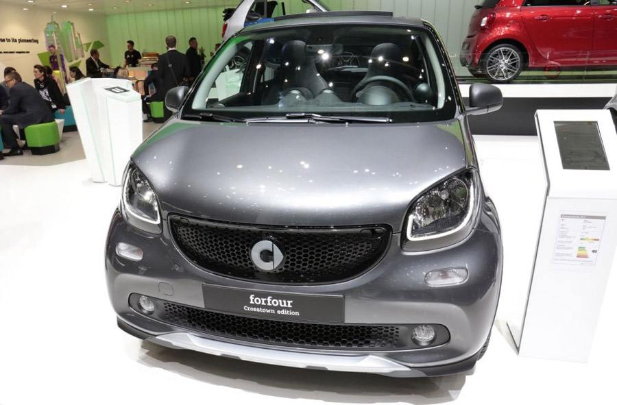 Передок Smart ForFour Crosstown